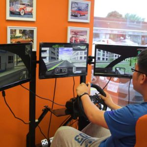 Advanced digital driving simulator in London Ontario