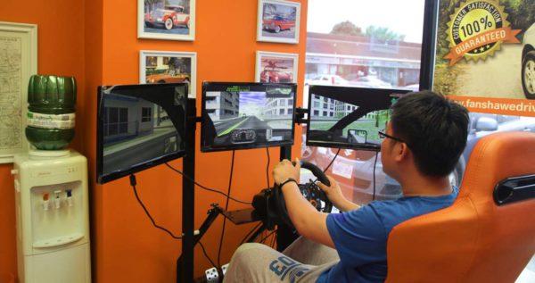 Advanced digital driving simulator in London Ontario